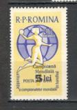 Romania.1962 Campioana mondiala la handbal feminin-supr.  YR.326