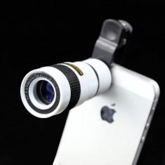 Obiectiv pentru telefon 8X Zoom (sticla optica certificata)