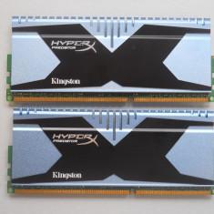 Kit Dual Channel Memorie Ram HyperX PREDATOR 8 GB (2 X 4 GB) 2400Mhz., DDR 3, Kingston