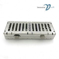 Cutie sterilizare / depozitare instrumente dentare - stomatologie