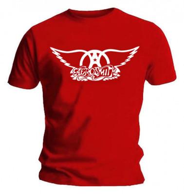 Tricou Aerosmith - Logo foto