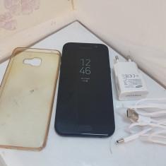 Samsung Galaxy A5 (2017) 32GB, 4G, Black, Amprenta impecabil, garantie - Telefon Samsung, Negru, Neblocat, Single SIM