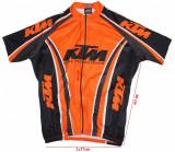 Tricou ciclism Pella, logo KTM, barbati, marimea L, Tricouri