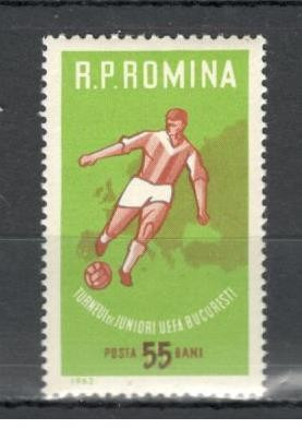 Romania.1962 Turneul de juniori UEFA  YR.316