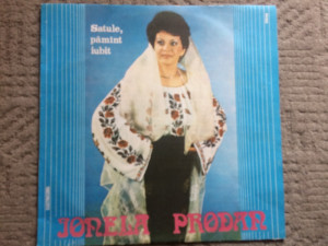ionela prodan satule pamant iubit album disc vinyl lp muzica populara folclor