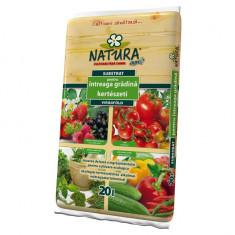 Substrat organic pentru intreaga gradina Natura, 50 litri