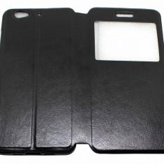 Husa Protectie Tip Carte Flip Cover Allview X3 Soul, Alt model telefon Allview, Negru