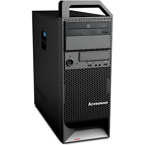 Workstation Refurbished Lenovo ThinkStation S20 Tower, Intel Core i7-920, Intel? Turbo Boost Technology, 8GB Ram DDR3, Hard Disk 500GB S-ATA, DVDRW, foto mare