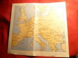 2 Harti- fata- verso Principalele Legaturi Feroviare Europene si Harta CFR ,24,5