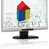 Monitor 22 inch LED Full HD, Philips Brilliance 221S3, Silver & Black, 3 Ani Garantie - Monitor LED Philips, 1920 x 1080