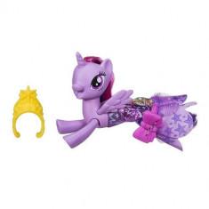 Figurina Hasbro My Little Pony Twilight Sparkle in rochita de sirena