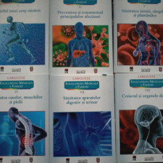 Enciclopedia medicala a familiei LAROUSSE (vol.1, 4, 5, 6, 7, 8)