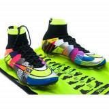 Ghete Fotbal Nike Mercurial Superfly IV SE FG What The 835363007, 41, Negru, Barbati