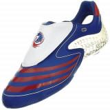 Ghete Fotbal Adidas F508 Tunit Upper 667576, 39 1/3, 40, Alb, Barbati