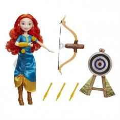 Papusa Hasbro Disney Princess Doll Meridas Adventure Bow