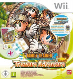 Family Trainer Treasure Adventure Standalone Game Nintendo Wii, Atari
