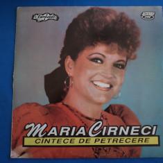 MARIA CARNECI/CANTECE DE PETRECERE, VINIL, electrecord