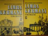 LIMBA GERMANA, CURS PRACTIC de EMILIA SAVIN SI IOAN LAZARESCU VOL.I-II