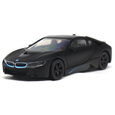 Masinuta BMW I8 Hybrid 2015, Scara 1:43 Negru foto