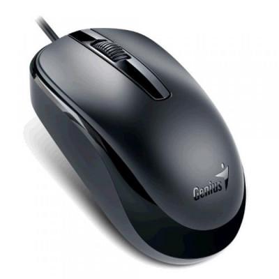 Mouse Genius DX-120 , Optic , 1000 DPI , Negru foto