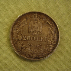 250 lei 1941 - Nihil Sine Deo - 1 - Moneda Romania, Argint