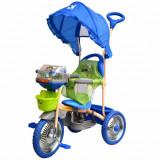 Tricicleta Merry Ride Albastru, DHS Baby