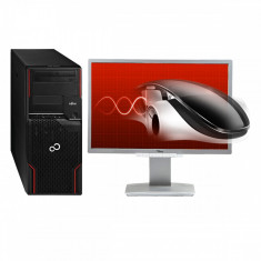 "Performance Pack: Fujitsu Celsius W510 Xeon E3-1230 3.20 GHz 8 GB DDR 3 1 TB HDD 1 GB Geforce 605 + Monitor Fujitsu 22"" LED"