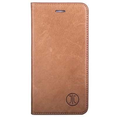 Husa de piele iPhone 8/7 JT Berlin Book Magic Cognac foto