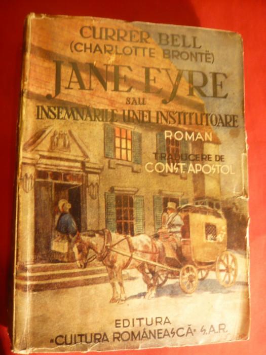 Charlotte Bronte - Jane Eyre -sau-Insemnarile unei institutoare -vol.1 1942 foto mare