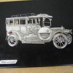 Tablou in relief cu masina veche de colectie