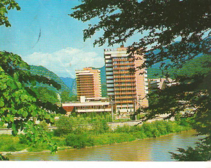 CPI B 10494 CARTE POSTALA - CACIULATA. HOTEL CACIULATA foto mare
