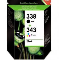 Combo pack HP 338 si HP343 - Cerneala imprimanta