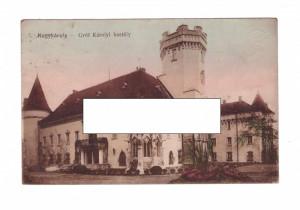 CP Carei - Castelul, 1910-18, circulata