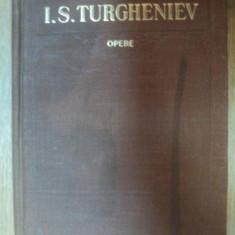 OPERE VOL. I de I. S. TURGHENIEV, Bucuresti 1954 - Roman