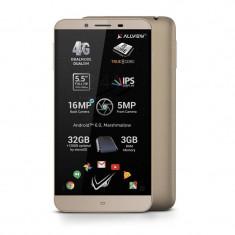 Smartphone Allview V2 Viper S 32GB Dual Sim 4G Gold - Telefon Allview