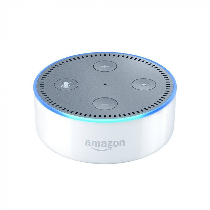 Resigilat : Boxa inteligenta Amazon Echo Dot culoare Alb
