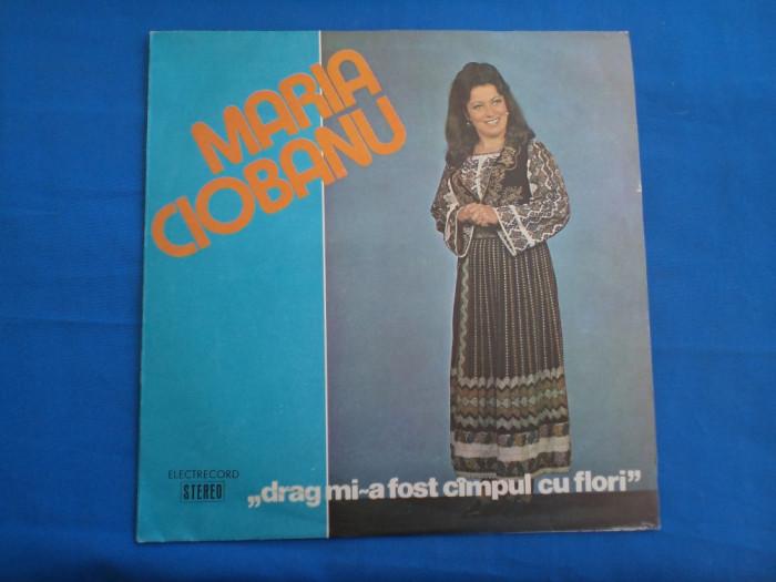 MARIA CIOBANU/DRAG MI-A FOST CAMPUL CU FLORI foto mare