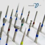 Freze dentare stomatologie - freze diamantate pentru turbina - freze slefuire