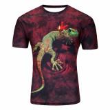 Tricou 3D Barbati Gecko - M, L