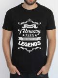Tricou personalizat Birth Of Legends, L, M, S, XL, XXL, Maneca scurta, Alb, Albastru, Bleumarin, Gri, Negru, Rosu, Verde