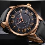 Ceas de lux barbatesc original NAVIFORCE, Lux - sport, Quartz, Otel