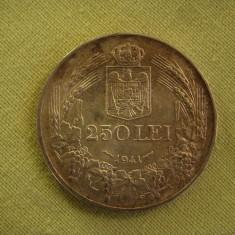 250 lei 1941 - Nihil Sine Deo - 3 - Moneda Romania, Argint