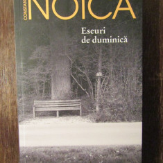 ESEURI DE DUMINICA -CONSTANTIN NOICA
