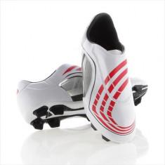 Ghete Fotbal Adidas F30 9 Trx FG 913268, Marime: 38 2/3, Rosu, Copii