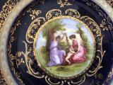 Cumpara ieftin ANII 1800 Royal Porcelain Viena Angelica Kauffmann SEMNATURA PORTELAN FARFURIE