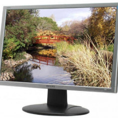 Monitor 22 inch LCD, Philips 220WS, Silver & Black