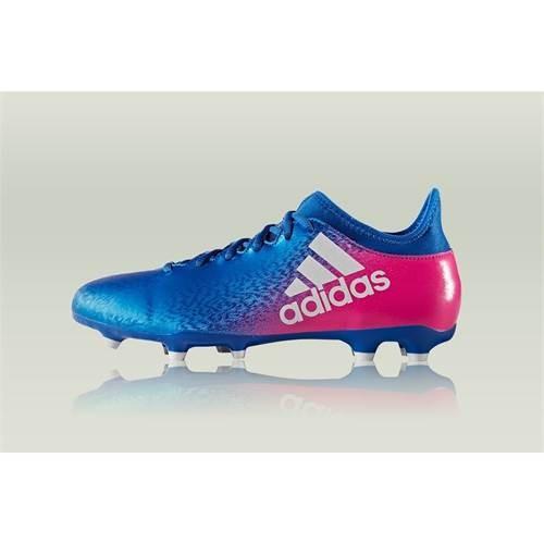 Ghete Fotbal Adidas X 163 FG BB5641 foto mare