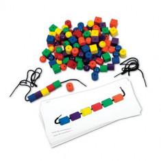 Set de Margele si Carduri - Jocuri Logica si inteligenta Learning Resources