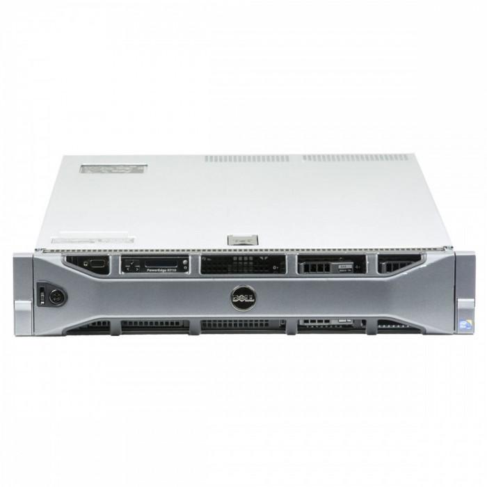 Dell Poweredge R710 2 x Intel Xeon X5650 2.66 GHz 32 GB DDR 3 REG 2 x 1 TB HDD 2.5 inch PERC 6/i Rackmount 2U foto mare