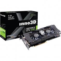 Placa video INNO3D nVidia GeForce GTX 1080 Twin X2 8GB DDR5X 256bit